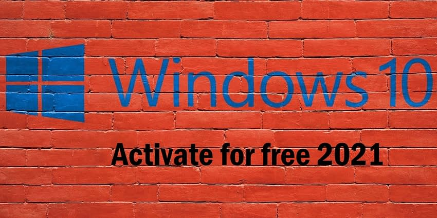 windows 10- activation